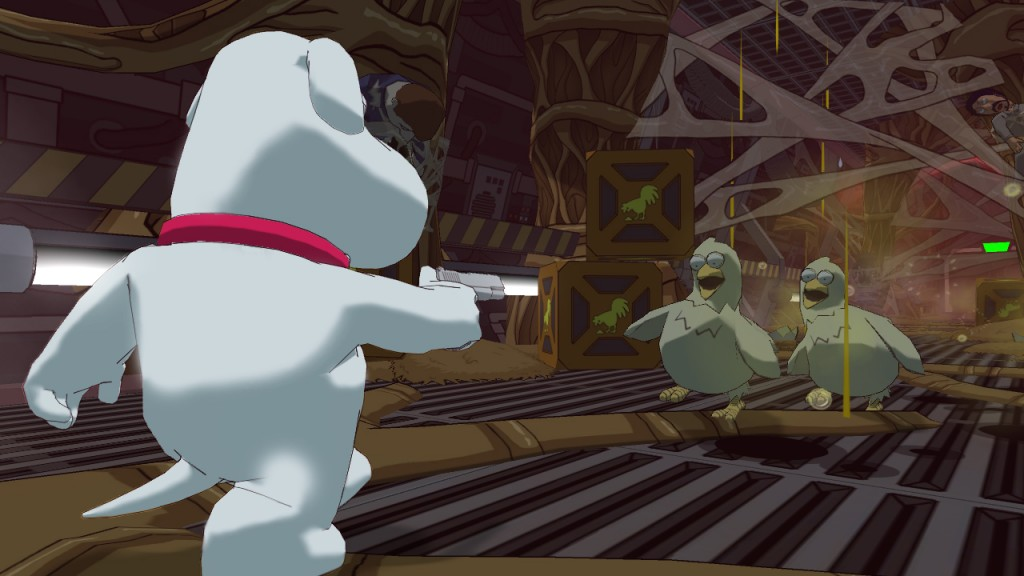 Family Guy Screenshot_Space Station 1