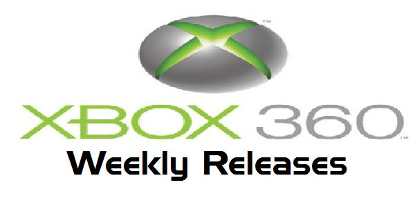 Xbox 360 Weekly Releases
