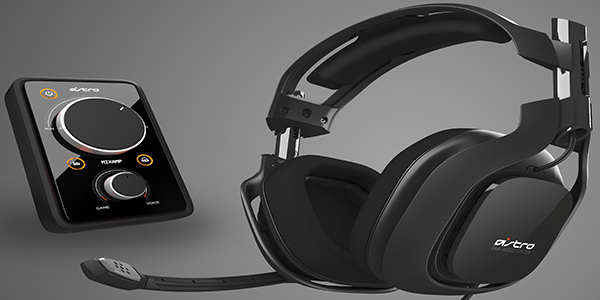 Astro A40 Headsets and MixAmp Pro!