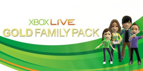 Xbox Live Family Gold Pack