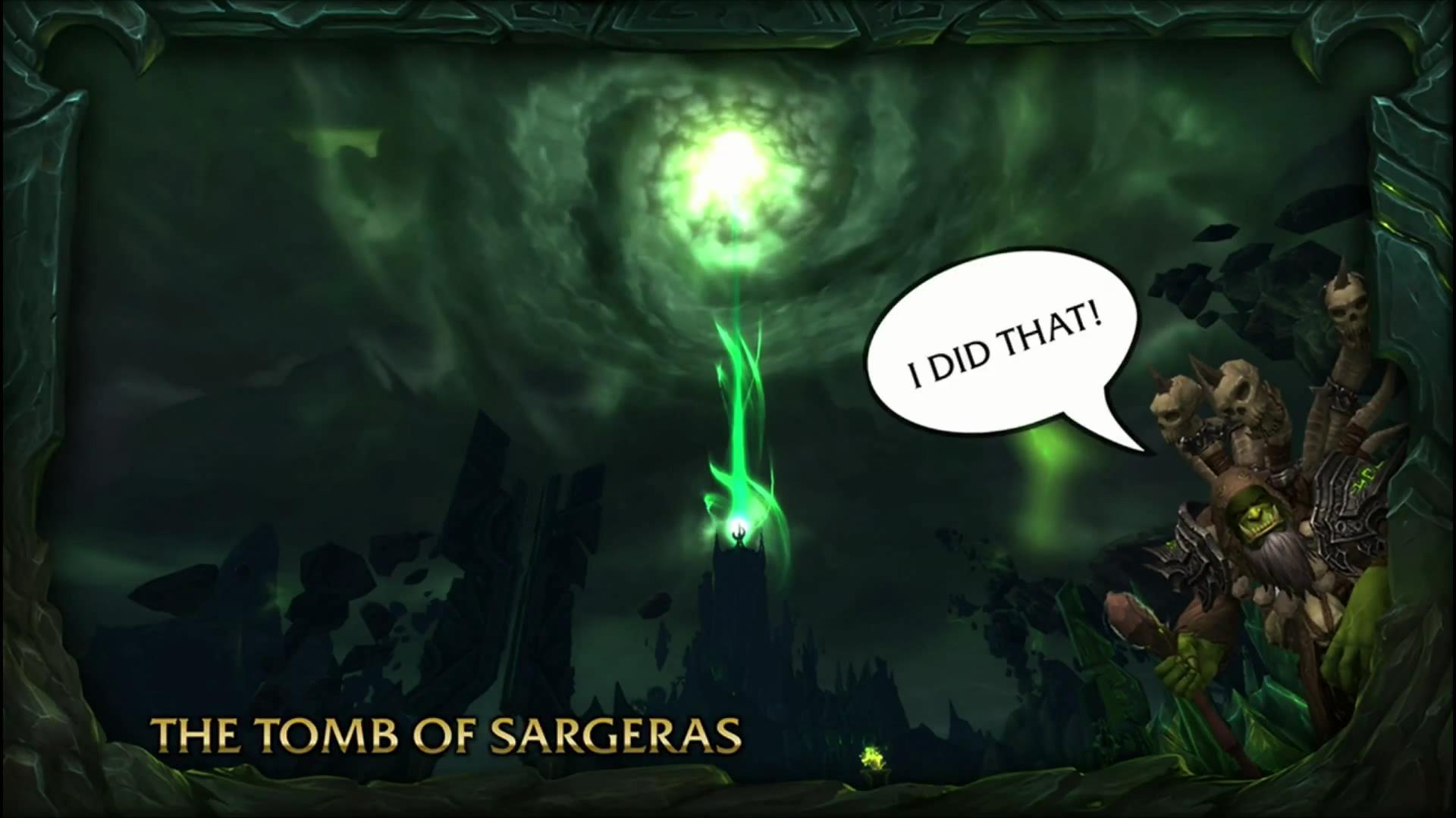 Warcraft Burning Legion Bj