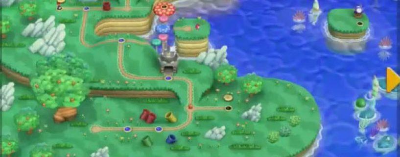 Big World Map Returns in New Super Mario Bros. U | Broken ...