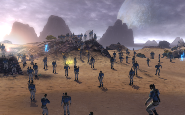 The Old Timers Guild takes over Star Wars the Old Republic