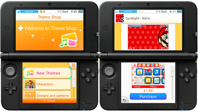 New System Update Brings Home Menu Themes To 3ds Broken
