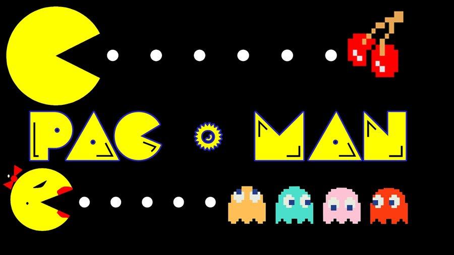 pacman logo - photo #35