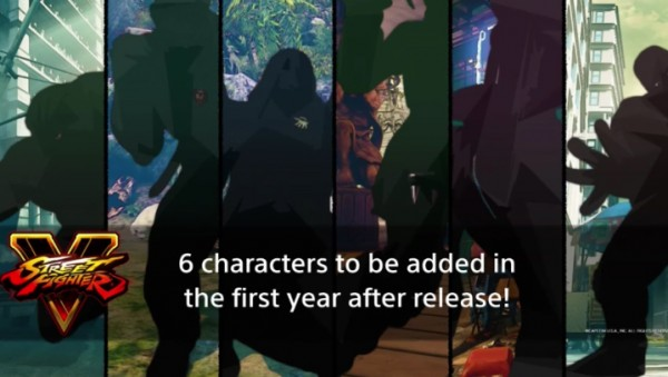 The mystery characters as teased this past October.