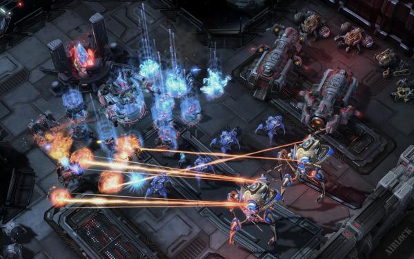 Star Craft II Legacy of the Void: Protoss v Protoss battles battles are still intense