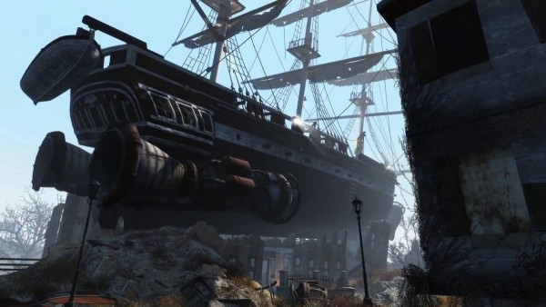 Fallout 4 Dry-docked Ship