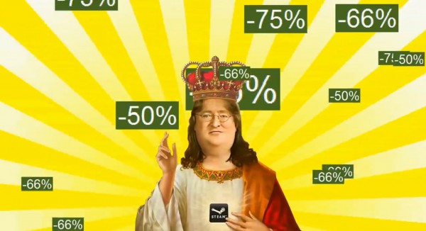 Gaben Steam Sale Love