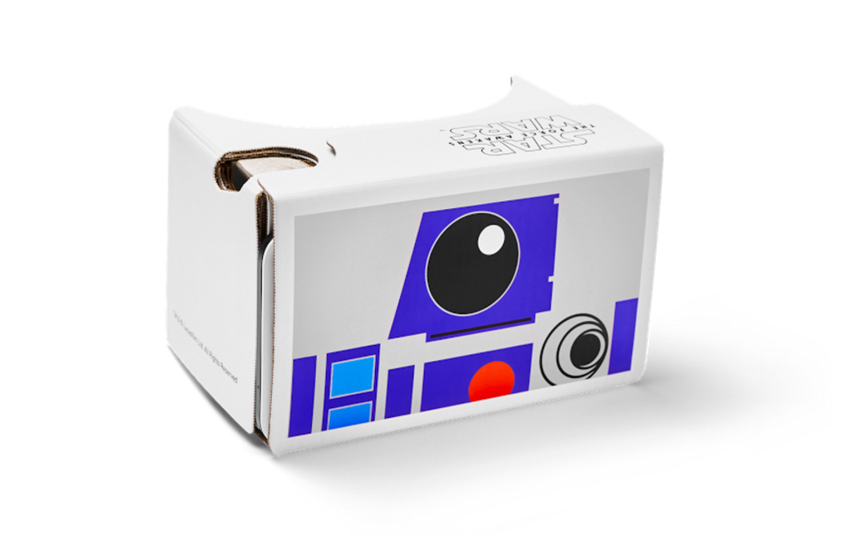 R2D2 Google Cardboard