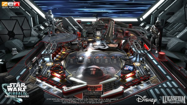 Zen Pinball 2: Star Wars Pinball- Might of The First Order