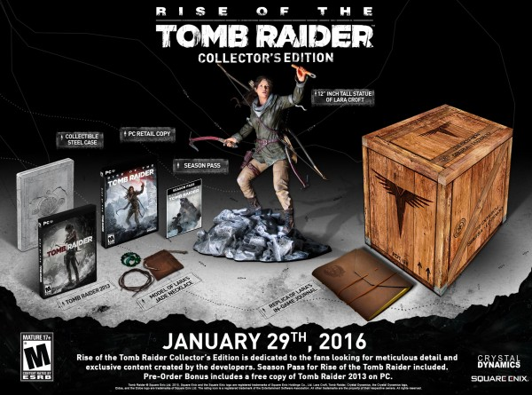 Rise of the Tomb Raider CE