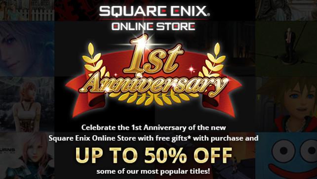 Square enix store code