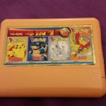 Broken Bootlegs: JX TV.Game Cartridge YH-4126 4 in 1 Super Game Pokemon