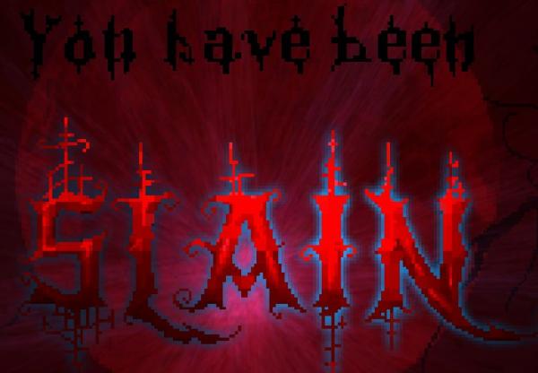 Dead Again - Slain Logo