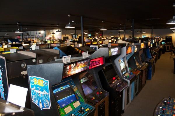 Galloping Ghost arcade, Brookfield Illinois