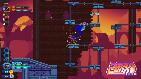 20XX in-game screenshot