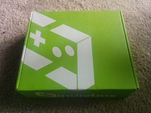 Here is the green box that everything ships in. I'm always so excited to see one!
