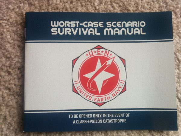 And, of course, your handy survival manual!