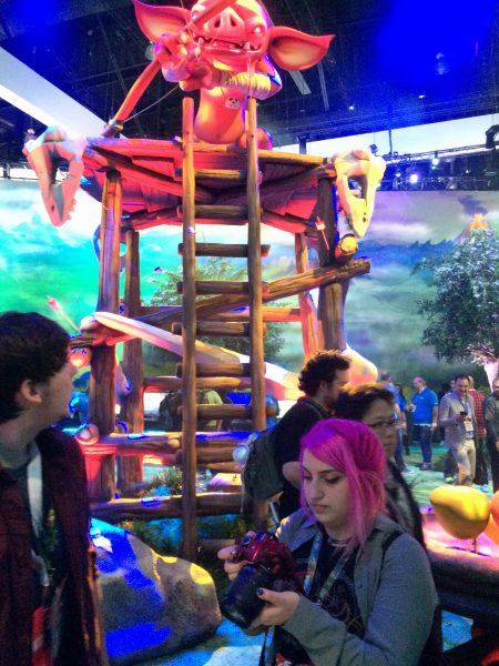 A Goblin Keeps A Loook Out In Nintendo's Live Experience