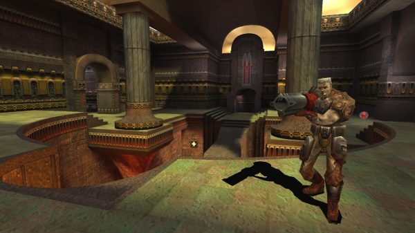 A Shot From 1999's Quake III Arena