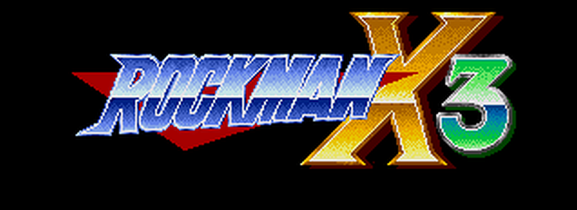 Rockman X3 title card
