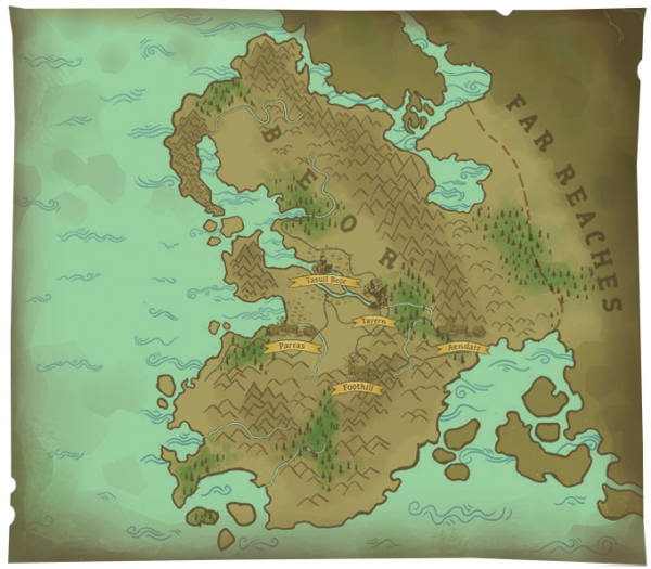 Fittingly, Epic Tavern is based in a land called Beor.