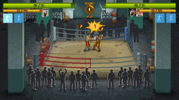 One of tinyBuild's games, Punch Club.