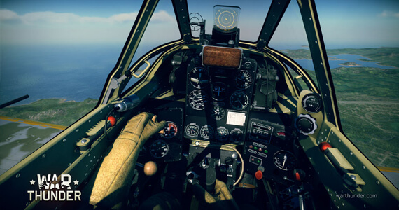 Having the most lively flying experience in War Thunder with