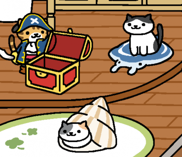 Here's all three of the new kitties chilling together with their goodies! Image courtesy of /u/notmyfaultyousuck.