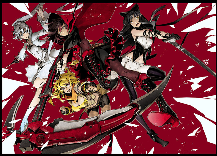 The Girls of RWBY