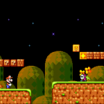 Mario 4 in-game