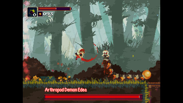 Momodora First Boss