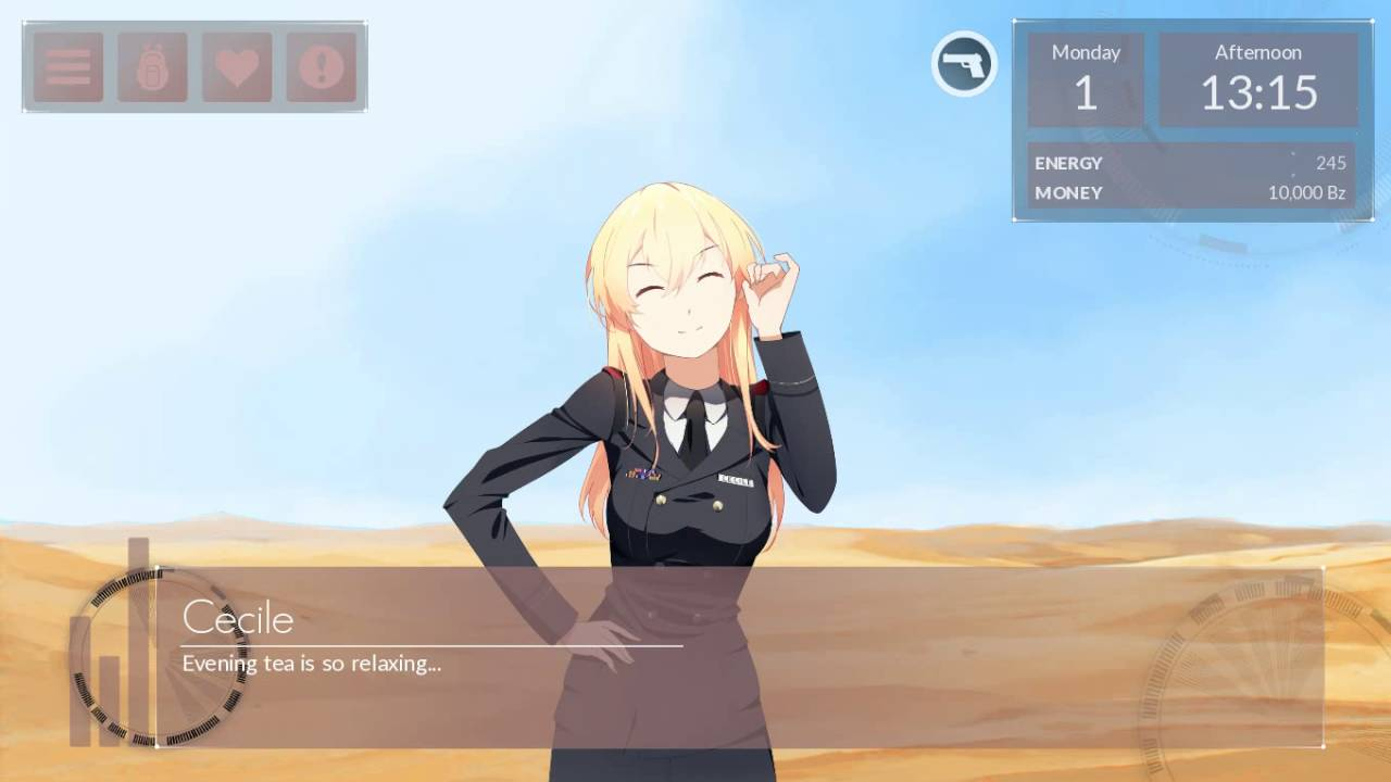 I really like the games flat UI its one the best I have ever played.