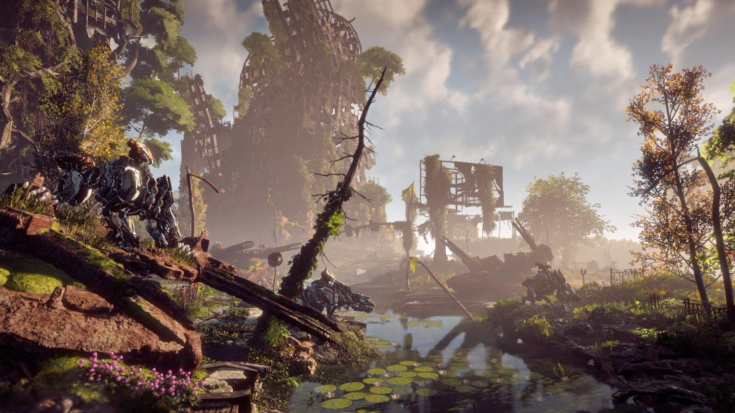 Horizon: Zero Dawn on PS4 Pro