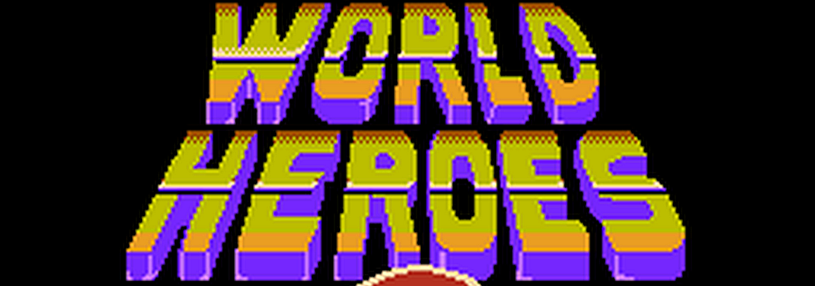 World Heroes 2 Header