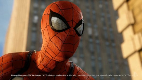 Insomniac Games's Spiderman shown running on PS4 Pro