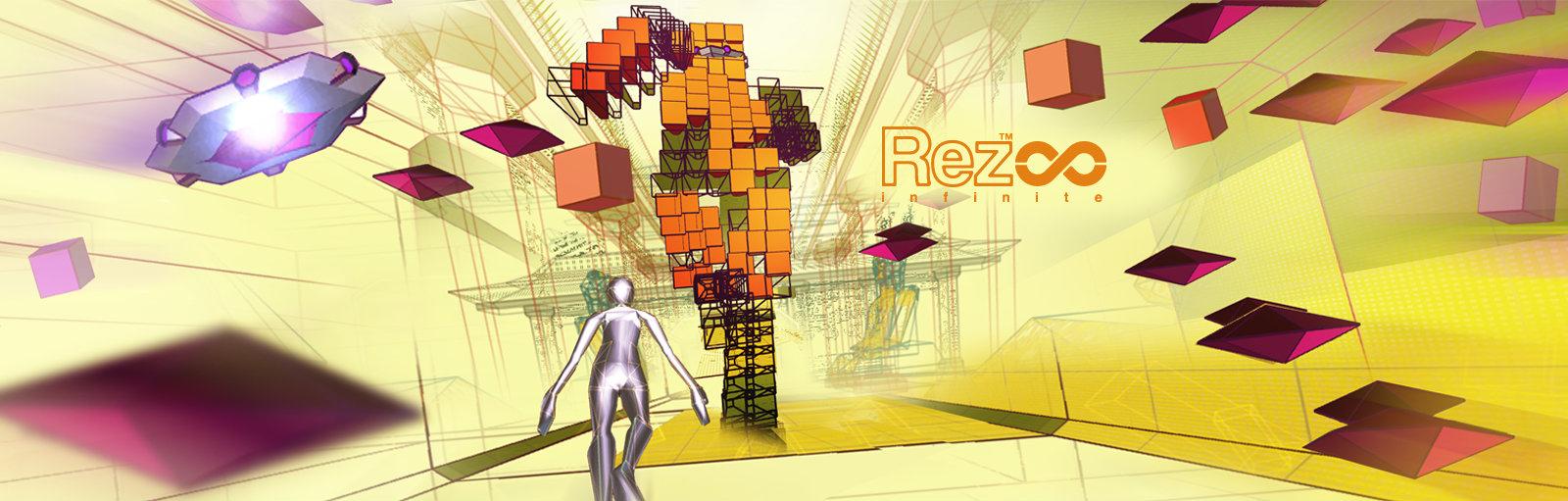 Rez Infinite logo banner