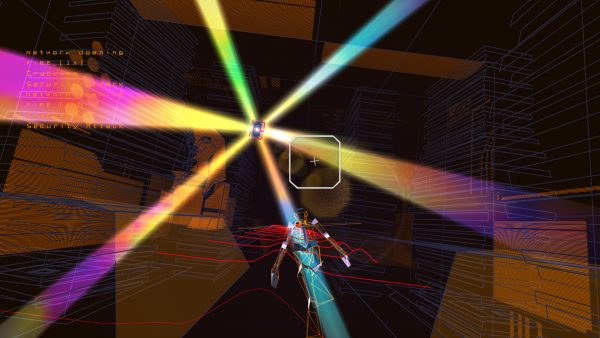 Activating a Network Gate in Rez Infinite