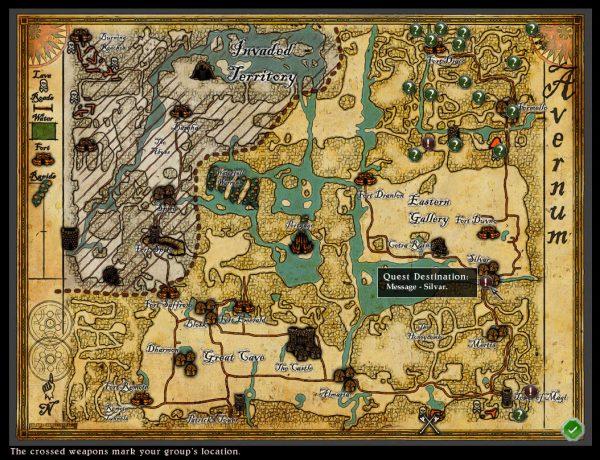 Avernum 2 Map