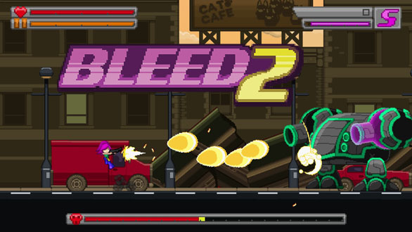 Bleed 2 Title