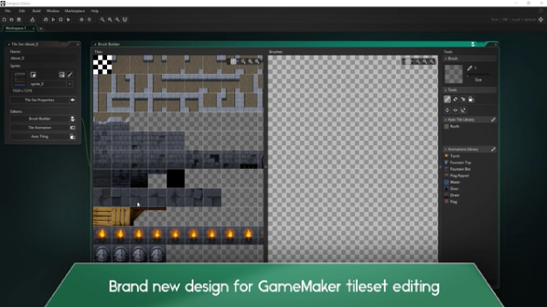 Gdc17 gamemaker studios 20 takes on industry titans broken gamemakers structural changes include a new page tab system similar to the layout of most modern ides but the unified function approach of game maker malvernweather Image collections