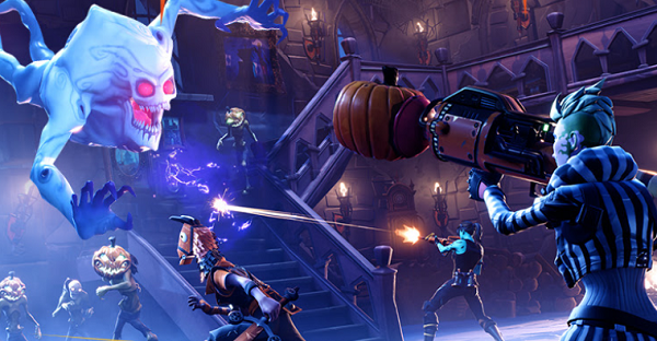 Fortnite Adds Battle Royale Cosmetics Haunted Castle More In