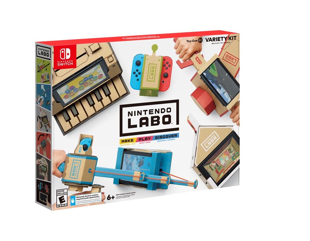 Kết quả hình ảnh cho Nintendo Labo variety kit