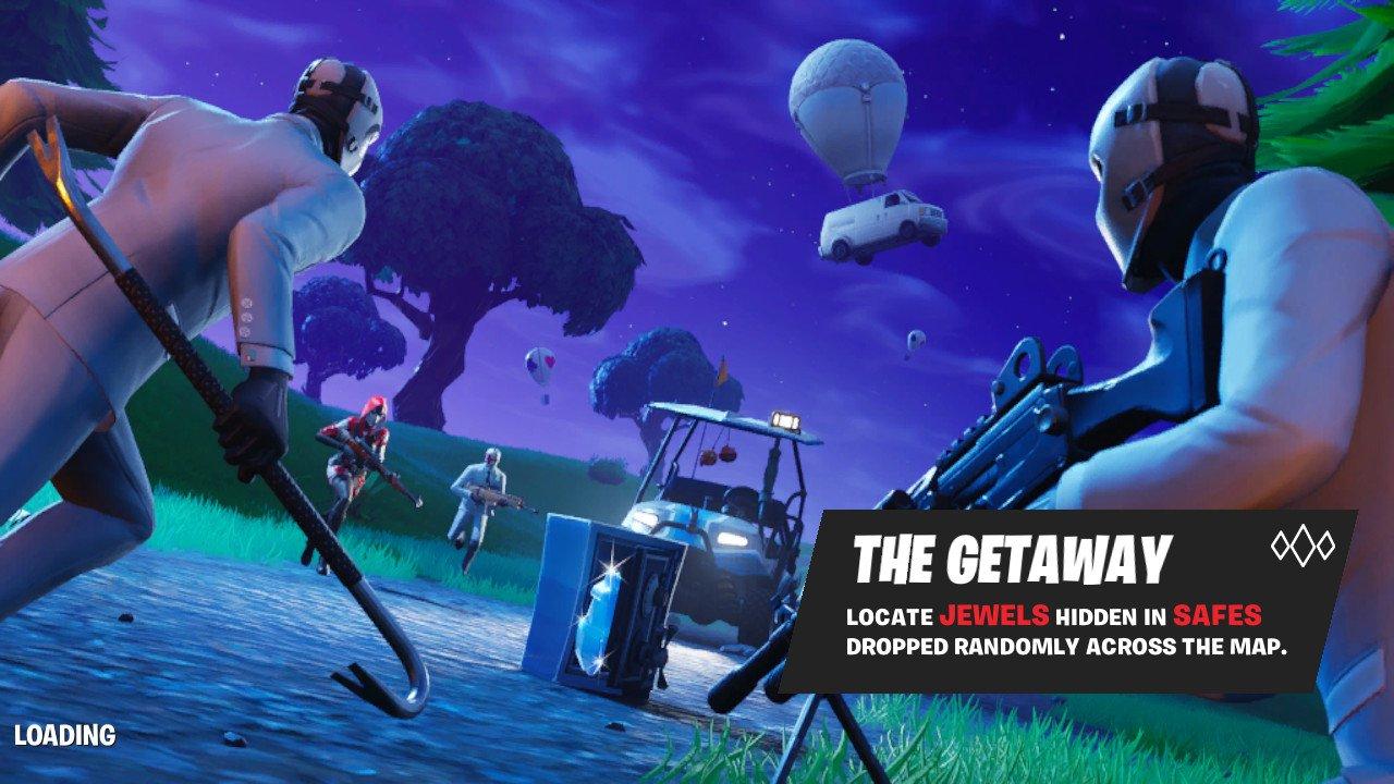 Fortnite Br S New The Getaway Ltm Less Like A Heist More Like